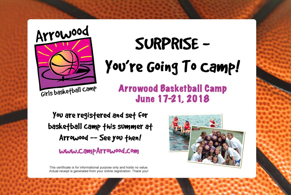 Camp Arrowood Holiday Card