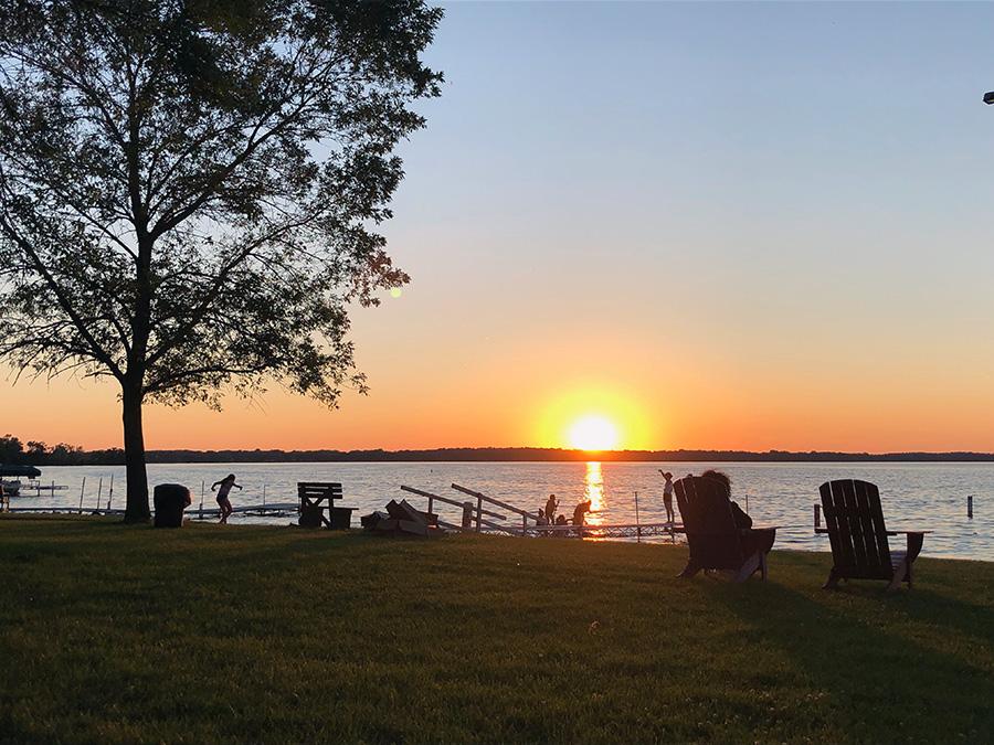 Camp Arrowood Sunset