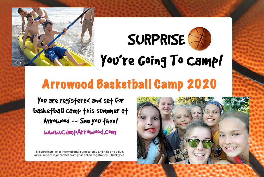 Holiday Discount for 2020 Camp Arrowood